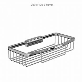 Britton Bathrooms Rectangular Wire Basket (A29CHR)